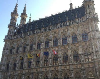 El ayuntamiento, el orgullo de Lovaina (I)