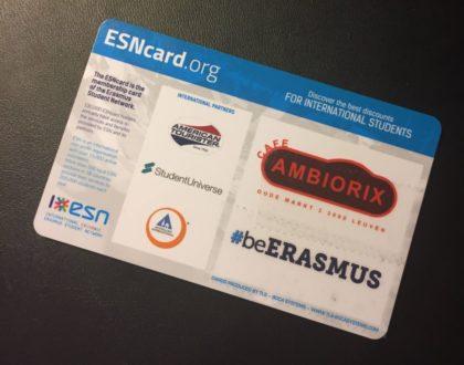 Erasmus Student Network, o nuestra querida ESN
