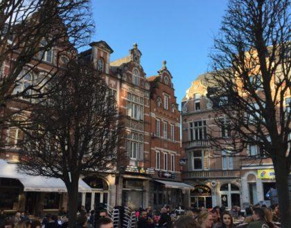 Buen tiempo en Oude Markt