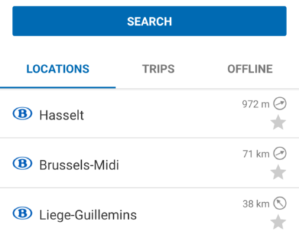 El tren en Bélgica, la mejor opción de transporte