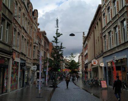 Diestsestraat, la calle comercial de Lovaina