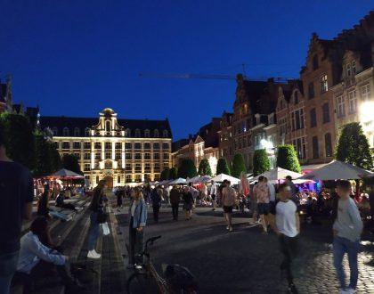 Oude Markt, la barra de bar más larga del mundo