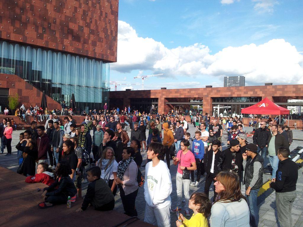 Actividad del festival Antwerp Street Kicks