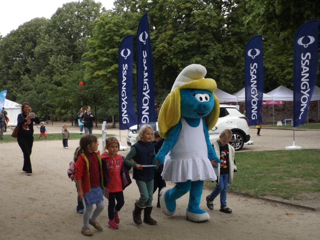 Fiesta del cómic en el Parc Royale
