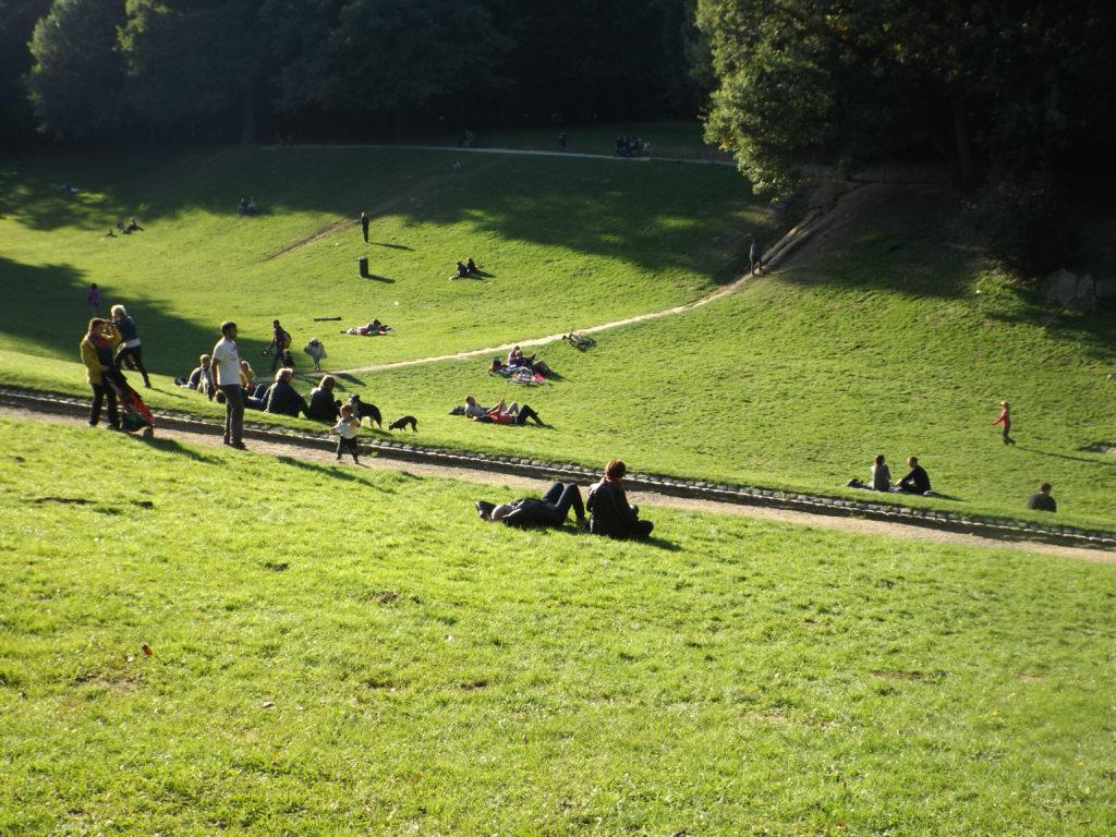 Un día soleado en Bois de la Cambre