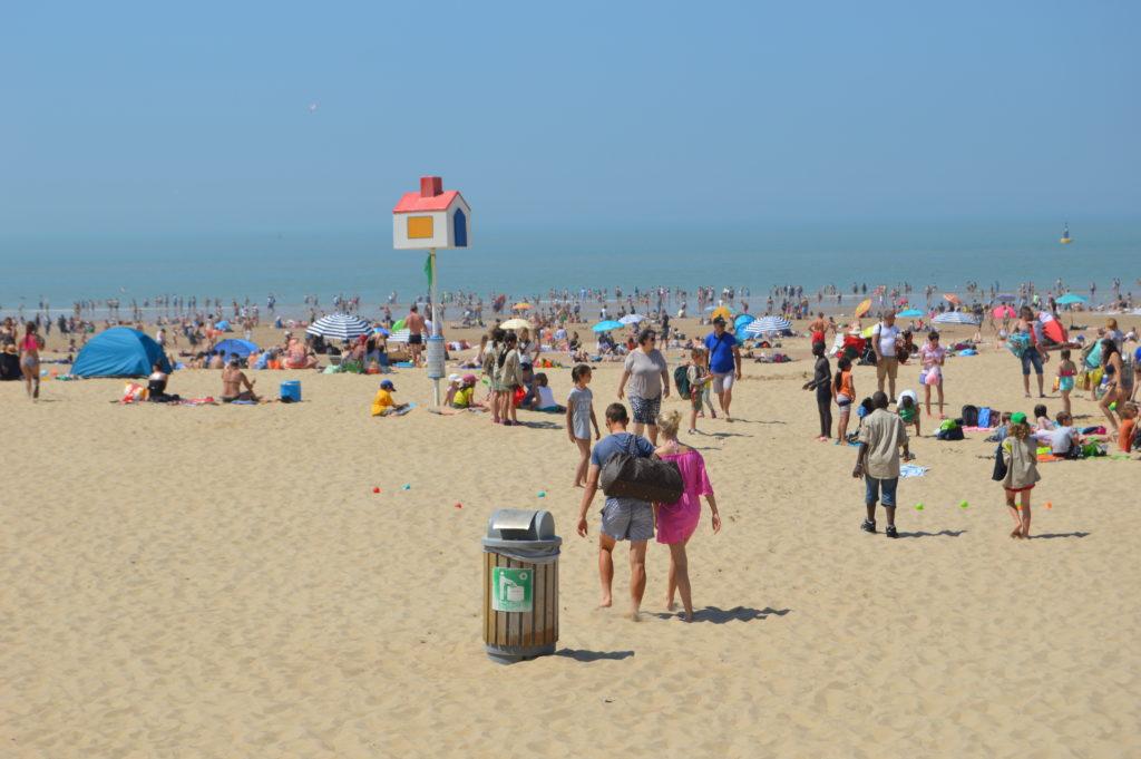 Ostende, la playa más popular de Bélgica.
