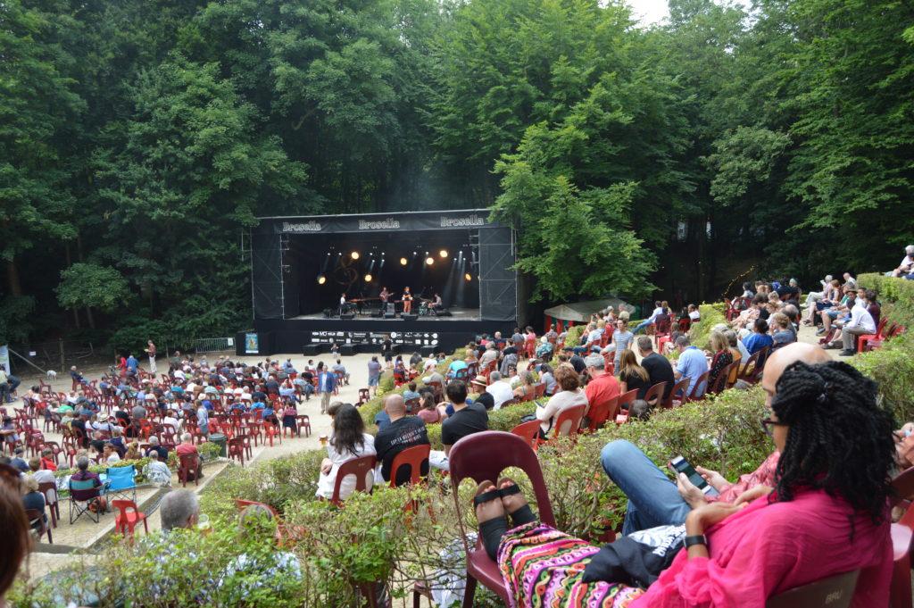 Theatre de la Verdure, domingo 9 de junio.
