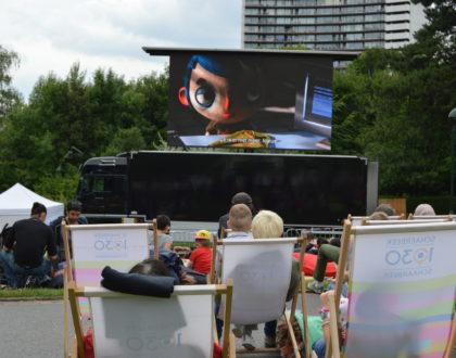 El cine al aire libre toma los barrios de Bruselas