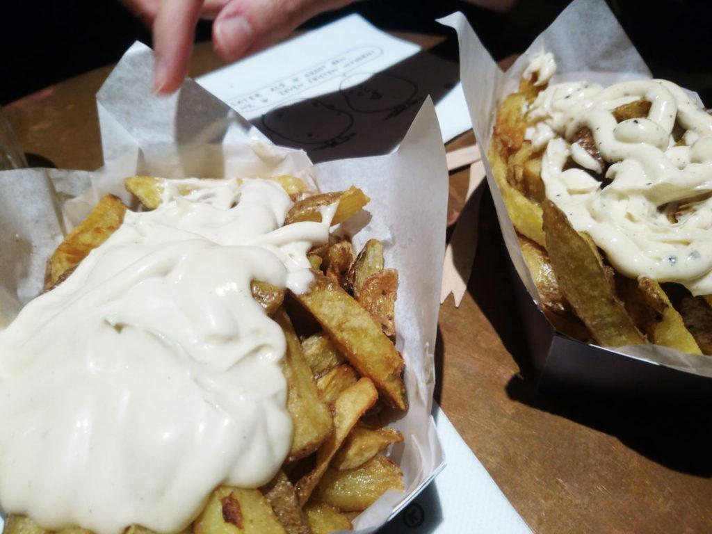 Patatas con Mahonesa frites gourmet en amberes - 1 7 1024x768 - Frites gourmet en Amberes