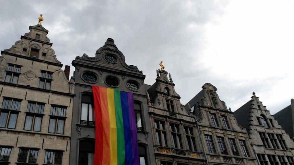 Bandera LGTBI pride weekend en amberes - IMG 20170813 160201 1024x576 - Pride weekend en Amberes