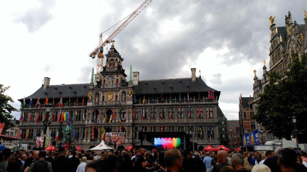 Plaza concierto pride weekend en amberes - IMG 20170813 160212 1024x576 - Pride weekend en Amberes